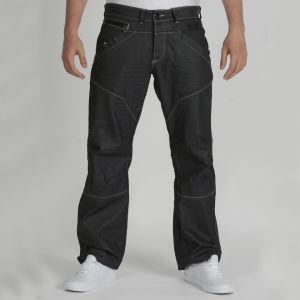Dissident Men's Denim Jeans - Black Coated Denim