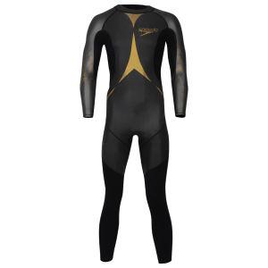 Speedo Men's Triathlon Thin Pro Wetsuit - Black/Gold