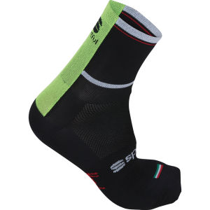 Sportful Bodyfit Pro Socks - Black/Yellow Fluo