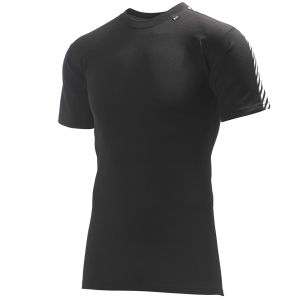 Helly Hansen Men's Dry Stripe T-Shirt - Black