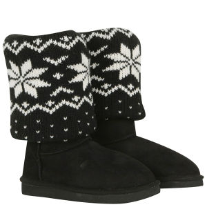 Love From Australia Women's Cozi Star Boots - Black