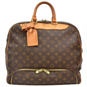 Louis Vuitton Vintage Monogram Canvas Evasion Travel Bag