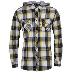 Sonneti Men's DA Hooded Shirt - Yellow