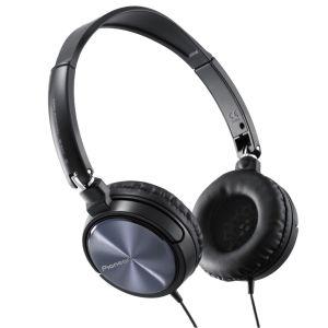 Pioneer  SE-MJ521 Dynamic Swivel Headphones - Black / Silver