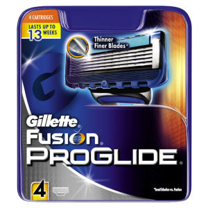 Gillette Fusion Proglide Blades (4 Pack)