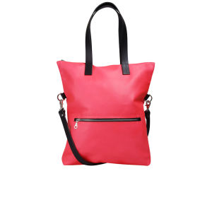 Kate Sheridan Exclusive to MyBag Zip Top Leather Tote - Neon Pink
