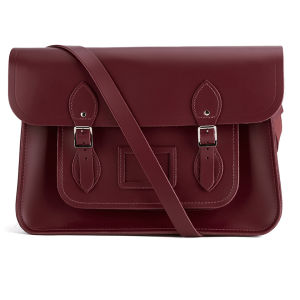 The Cambridge Satchel Company 15 Inch Leather Satchel - Oxblood