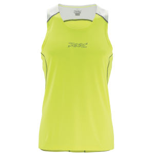 Zoot Men's Performance Run Singlet - Safety Yellow