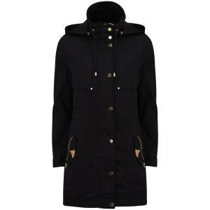 Vero Moda Women's Magnolia Hooded Parka Jacket - Black
