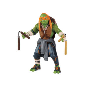 Teenage Mutant Ninja Turtles Movie - Michelangelo - Super Deluxe Figure