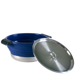 Collapsible Cooking Pot - Navy