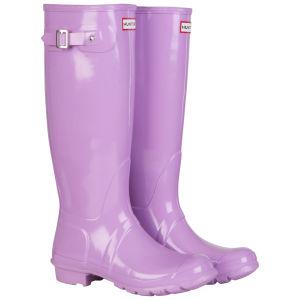 Hunter Women's Original Tall Gloss Wellington Boots - Wisteria