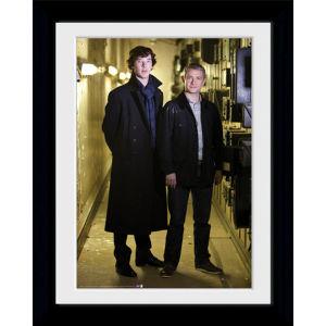 Sherlock & Watson Portrait - 30 x 40cm Collector Print