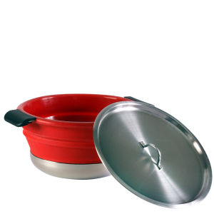 Collapsible Cooking Pot - Red
