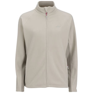 Trespass Women's Agate Full Zip Fleece - Stone