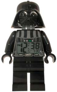 LEGO® Star Wars™ Darth Vader Minifiguren-Uhr mit Wecker