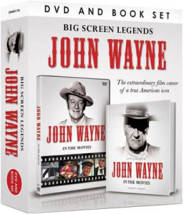 Big Screen Legends: John Wayne (Includes Book)