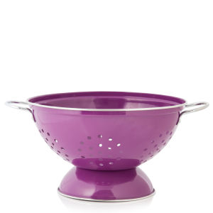 Cook In Colour Large Colander - Plum