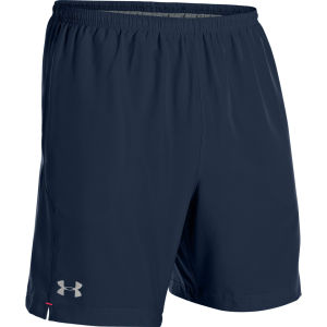Under Armour Men's Escape 7 Inch Solid Shorts - Academy/Neo Pulse/Reflective