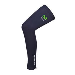 Movistar Team Replica Thermolite Leg Warmers - Blue 2014