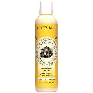 Burts Bees小蜜蜂婴儿无香料洗发/沐浴露(235ml)