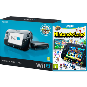Wii U Console: 32GB Nintendo Land Premium Pack - Black