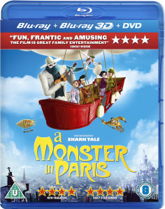 A Monster in Paris 3D (3D Blu-Ray, 2D Blu-Ray en DVD)