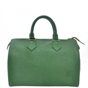 Louis Vuitton Vintage Green Epi Leather Speedy 25 City Bag
