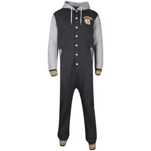 Catskill Men's Skelton Onesie - Grey Marl