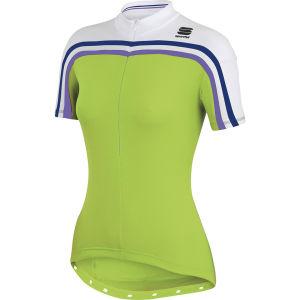 Sportful Allure Jersey - Green/White