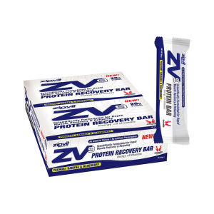 ZipVit ZV9 Yogurt Banana and Blueberry Protein Recovery Plus Bars - Box of 15