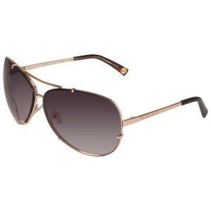 8bb7a296b8df MICHAEL MICHAEL KORS Women's Stella Metal Aviator Style Sunglasses - Gold  Womens Accessories | TheHut.com