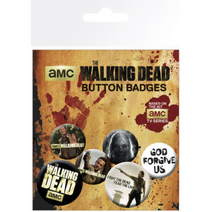 Lot de Badges The Walking Dead