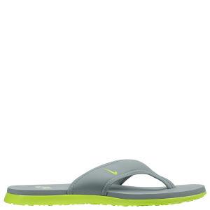 Nike Men's Celso Thong Plus Flip Flops - Grey/Green