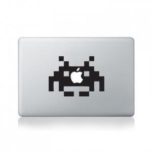 Space Invader MacBook Decal