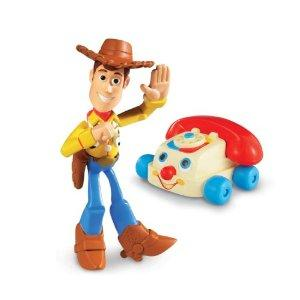 Toy Story 3: Buddy Pack Waving Woody & Chatterphone
