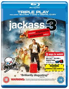 Jackass 3: Triple Play (Includes Blu-Ray, DVD and Digital Copy)