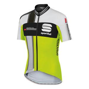 Sportful Gruppetto Aero Jersey - Yellow Fluo/Black