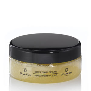 DELAROM Orange Sugar Body Scrub (200 ml)