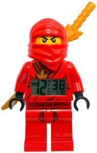 LEGO Ninjago: Kai with Sword Mini-Figure Clock