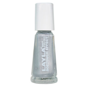 Layla Cosmetics Softouch Effect Nail Polish N.01 Marshmallow Twinkle (10ml)