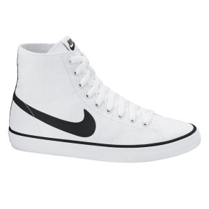 Nike Men's Primo Court Mid Trainers - White/Black