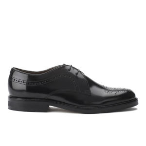 H Shoes by Hudson Women's Magee Hi Shine Brogues - Black