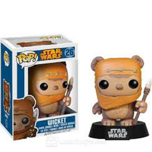Star Wars - Wicket - Pop! Vinyl Figur