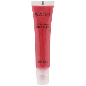 NATIO ULTRA SHINY FRUIT GLOSS - CHERRY (15ML)