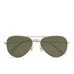 Vero Moda Women's Aviator Sunglasses - Pale Gold