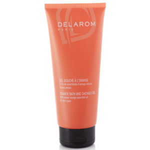 DELAROM Orange Bath & Shower Gel (200ml)