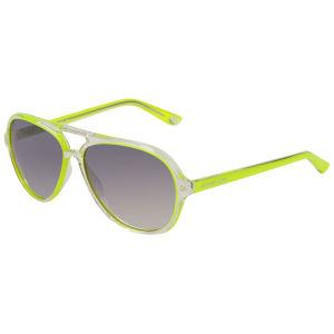MICHAEL MICHAEL KORS Women's Caicos Clear Plastic Style Sunglasses - Yellow