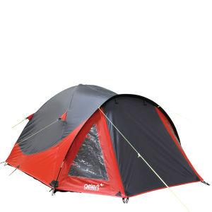 Gelert Rocky 3 Tent - Mars Red/Charcoal