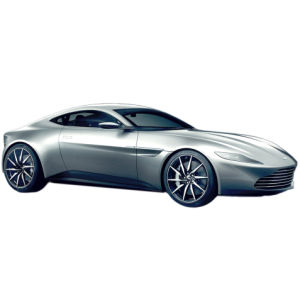 Hot Wheels Elite James Bond Spectre Aston Martin DB10 1:18 Scale Model